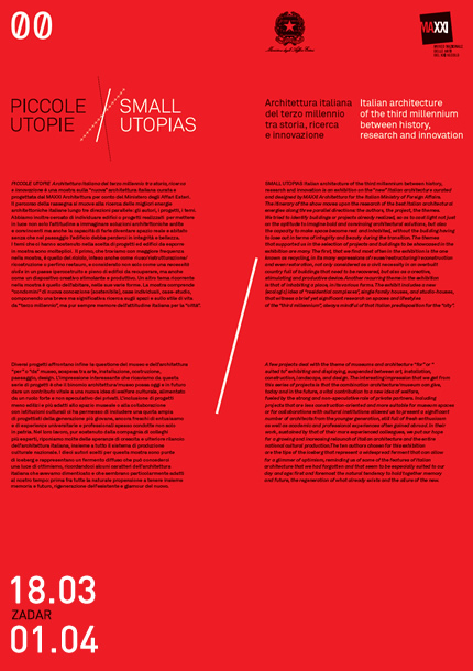 Izložba Piccole utopie/Male utopije