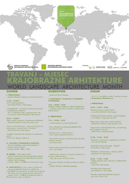 Svjetski mjesec krajobrazne arhitekture